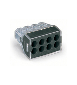 Push on electrical connectors