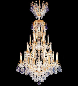 Marie Therese Crystal Stairwell Chandelier