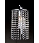 Traditional Style Crystal Wall Light