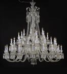 3 Tier Crystal Bell Chandelier