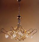 Fercrepa Design  Chandelier With Swarovski Crystal Details