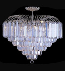 Ice Waterfall Lead Crystal Chandelier