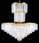 Tiered Elegant Crystal Chandelier